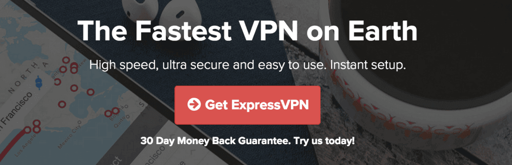 Express VPN Homepage