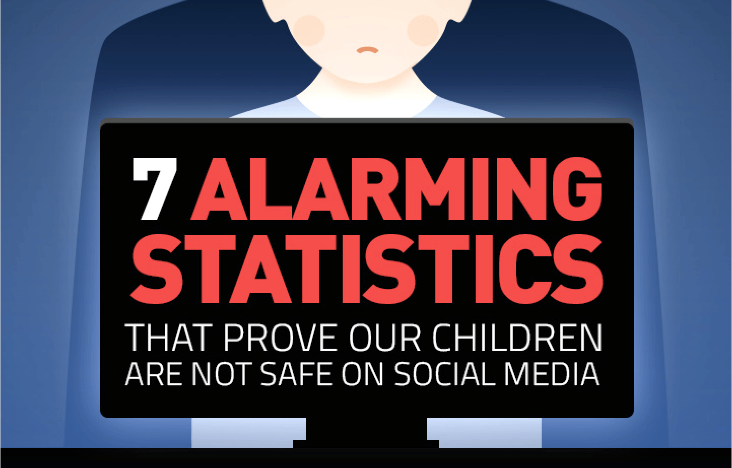 7 Alarming Statistics that Prove Children Aren't Safe on Social Media