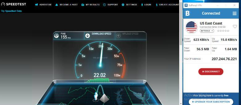 Buffered Review - Downlink speed