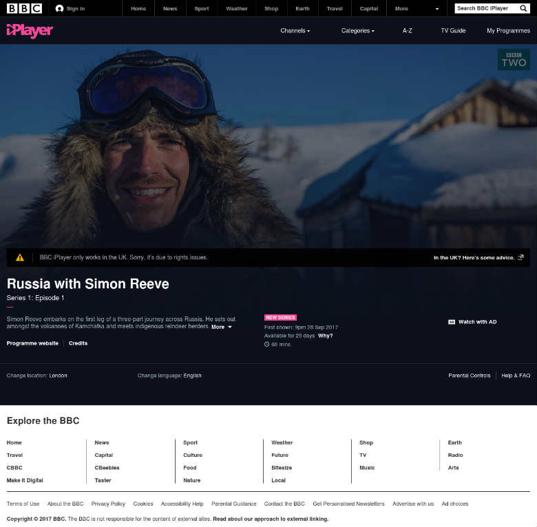 how to unblock bbc iplayer with a VPN