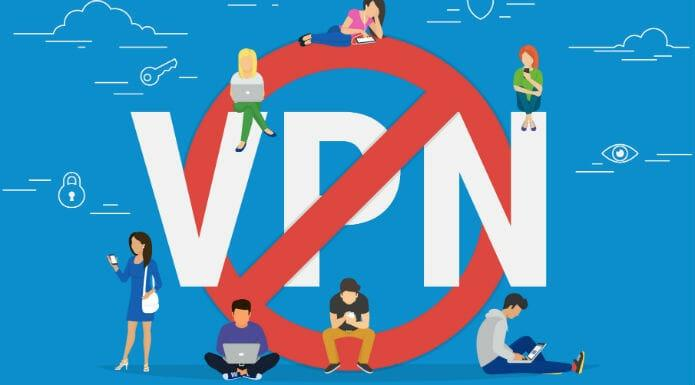 VPN ban from China and Russia