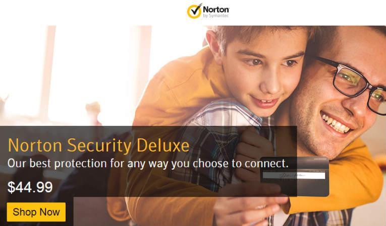 Sign up with Norton Antivirus