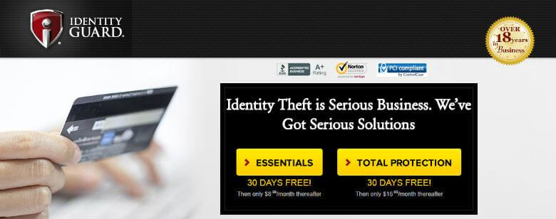 Identity Guard ID Theft Protection