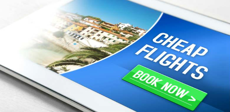 Save money on flights online