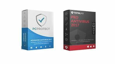 PC Protect vs TotalAV