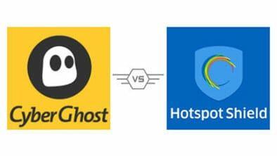 CyberGhost vs HotSpot Shield