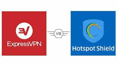HotSpot Shield vs ExpressVPN