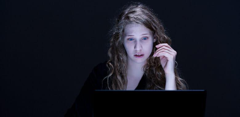 stalking ex online