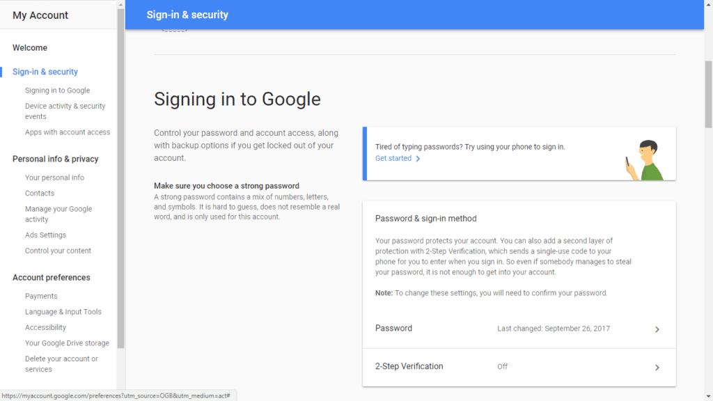 2fa gmail step 1 b