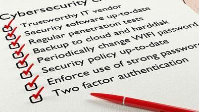 7 Cybersecurity Tasks