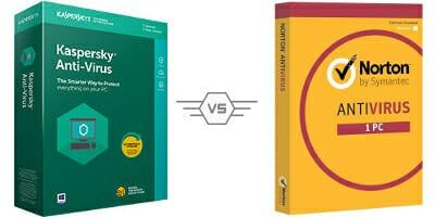 Norton Antivirus vs Kaspersky