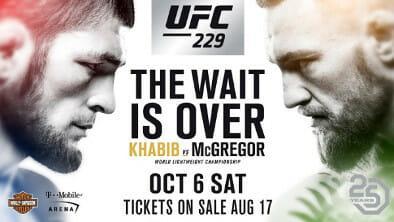 McGregor vs Khabib Online Stream