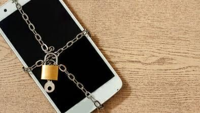 smartphone with malware
