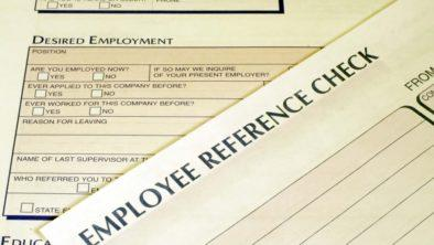 what is a background check for employment